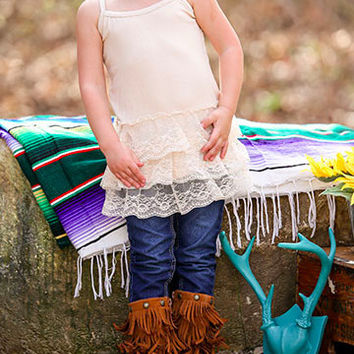 Lace Extender Tanks (Toddler & Youth)