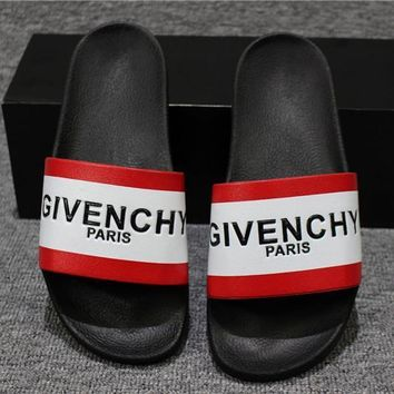 Givenchy Fashion Men Women Slipper Sandals Shoes-3