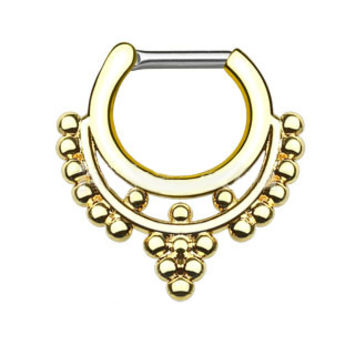 Beaded Collar IP Septum Clicker