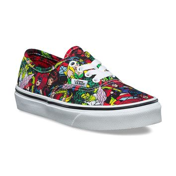 Vans Authentic (Marvel) Multi/True White VN0A38H3U41 Kid's Shoes