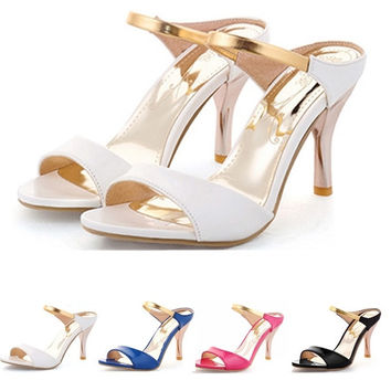 Women Sandals Sexy High Heels Flip Flops Gladiator Open Toe Less Platform Outdoor Beach Summer Shoes Plus size = 5708890113