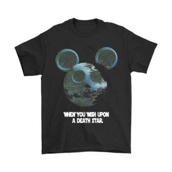 DCCKON7 Mickey Star Wars When You Wish Upon A Death Star Shirts