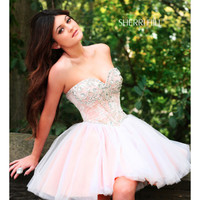 SHERRI HILL 21156 <FREE JEWELRY + PRICE MATCH> FORMAL PROM HOMECOMING DRESS