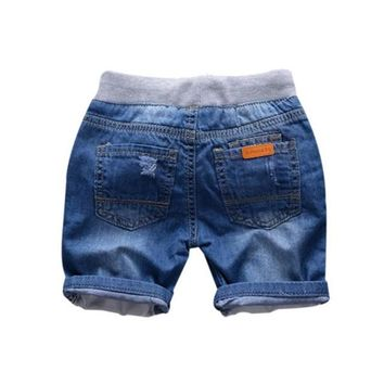 Hot Shorts Kids Girl Boy Jeans  Summer Denim Panties Jeans  Children Clothes 2-7YAT_43_3