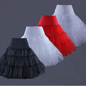 Best Quality Petticoats for Wedding Dress Black crinoline girls enaguas novia underskirt rockabilly petticoat jupon mariage