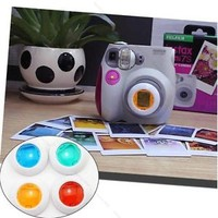NEW Filter Close-up Lens for Fujifilm Instax Mini 7s 7 8 Camera #H 4Colors / Set