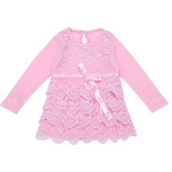 New Babies Dress Princess Baby First Birthday Tutu Dress Cute Babies Long Sleeve Dresses 0-12M  Long Sleeve Girl Floral Dress