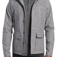 Kane & Unke Trim Fit Military Jacket | Nordstrom
