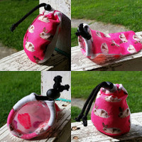 Refillable Bunny Chalk Sock | The Climbing Stone