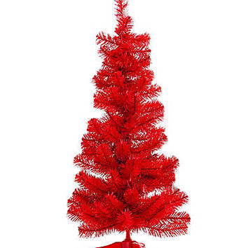 Dillard´s Trimmings Red Carpet Rollout 3-ft. Red Christmas Tree | Dillards.com