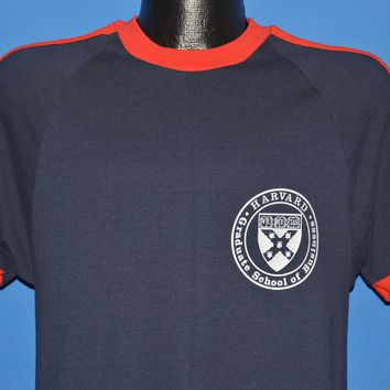 70s Harvard Graduate School of Business t-shirt Medium