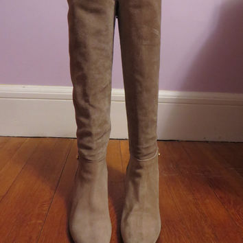 Tall Suede Boots (Small/Indie Brands)