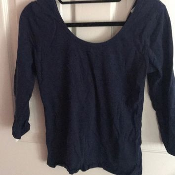 Garage Navy Top