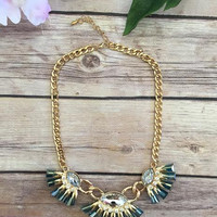 After the Rain Necklace-Gold