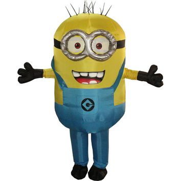 New Halloween Cosplay Party Costume Adult Minion Inflatable Minion Costume Mascot Blue Green Red Color Minion Costume Carnival