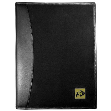 Colorado Buffaloes Leather and Canvas Padfolio CPAD57
