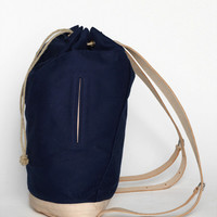 Freemans Sporting Club — Canvas Day Pack