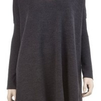 OVERSIZE V-NECK SWEATER DRESS $78.00
