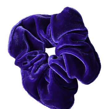 Velvet Goldmine Scrunchie - Purple