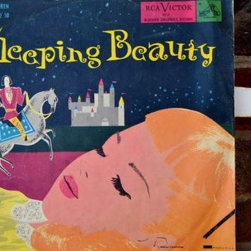 1950's Sleeping Beauty Story Record
