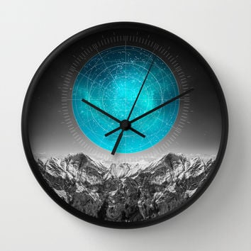 Not All Those Who Wander Wall Clock by Soaring Anchor Designs