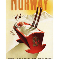 Norway - The Cradle of Skiing Prints at AllPosters.com