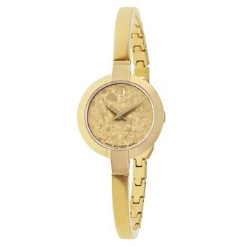 Movado Bela Gold-Tone Stainless Steel Watch 0607018