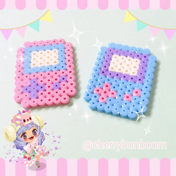 Pastel Gameboy hairclip, brooch or necklace (2 pcs)