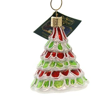 Old World Christmas WHIMSICAL TREE Glass Ornament Grinch Who-Ville 48036