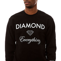 Diamond Supply Co. The Diamond Everything Sweatshirt in Black