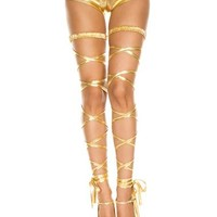 Goddess Gold Adult Leg Wrap – Spirit Halloween