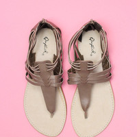 Sweet Savannah Sandal - Taupe