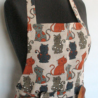 Cat Oven Mitt Quilted Oven Glove Valentines Day Gift Easter Kitchen Decor Insulated Pot Holder Housewarming Gift