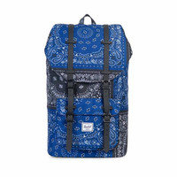 Herschel Supply Little America Bandana Backpack In Navy