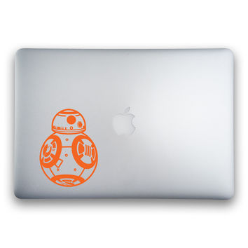 BB-8 from Star Wars: The Force Awakens Sticker for MacBooks and Apple Devices