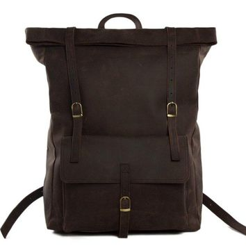 BLUESEBE HANDMADE GENUINE LEATHER BACKPACK MG31