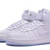 Nike Air Force 1 HI AF1 White For Women Men RunningNike Air Force 1 HI AF1 White For Women Men Running Sport Casual Shoes Sneakers 36-45 Sport Casual Shoes Sneakers