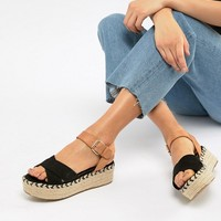 River Island wedges with espadrille flatform heel at asos.com
