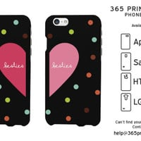 Besties Heart Best Friend Matching Phone Cases - 365 Printing Inc