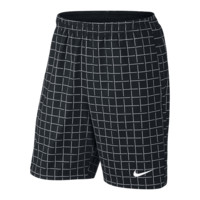 "Nike 9"" Court Plaid Men's Tennis Shorts"
