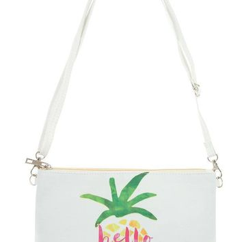 Hello Summer - Pineapple Pouch Bag
