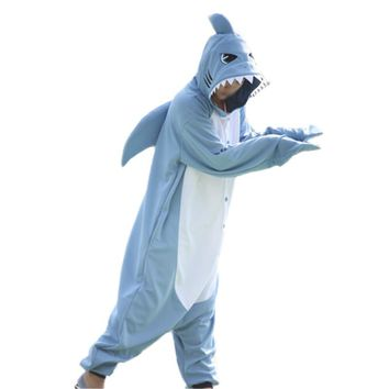 Animal Cosplay Costume Adult Pajamas Unicorn Shark Pug Dog Onesu  sc 1 st  wanelo.co & Best Shark Costume Products on Wanelo