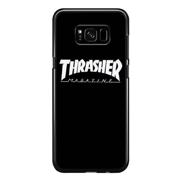 Thrasher Logo Samsung Galaxy S8 Plus Case
