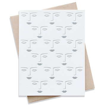 faces card