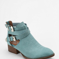 Jeffrey Campbell Everly Snake Cutout Ankle Boot