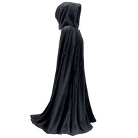 Full Length Velvet Cape - New Age, Spiritual Gifts, Yoga, Wicca, Gothic, Reiki, Celtic, Crystal, Tarot at Pyramid Collection