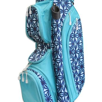 Indigo Batik Golf Bag