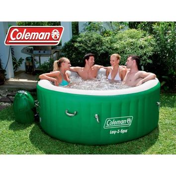Coleman Lay-Z Massage Portable Spa for 4-6 People - Walmart.com
