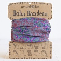 Natural Life Boho Band - Grey/Red