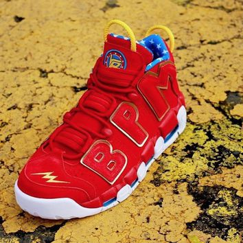 Nike Air More Uptempo Red Doernbecher Men Sneakers